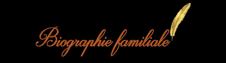 Biographie-familiale